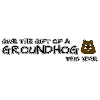 Give the gift of a groundhog this year