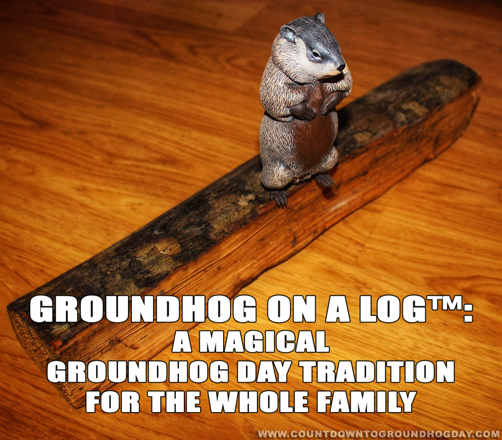 Groundhog on a Log