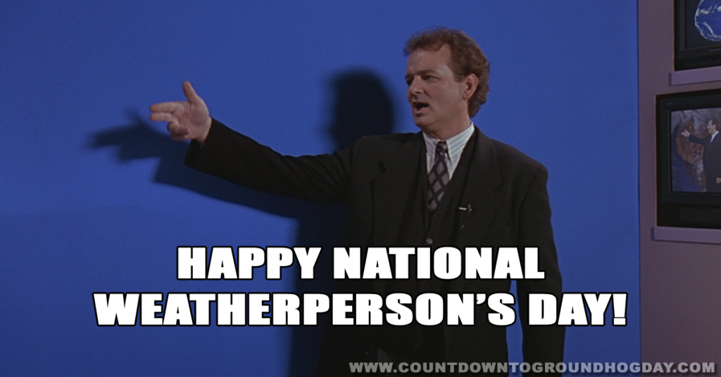 Happy National Weatherperson Day