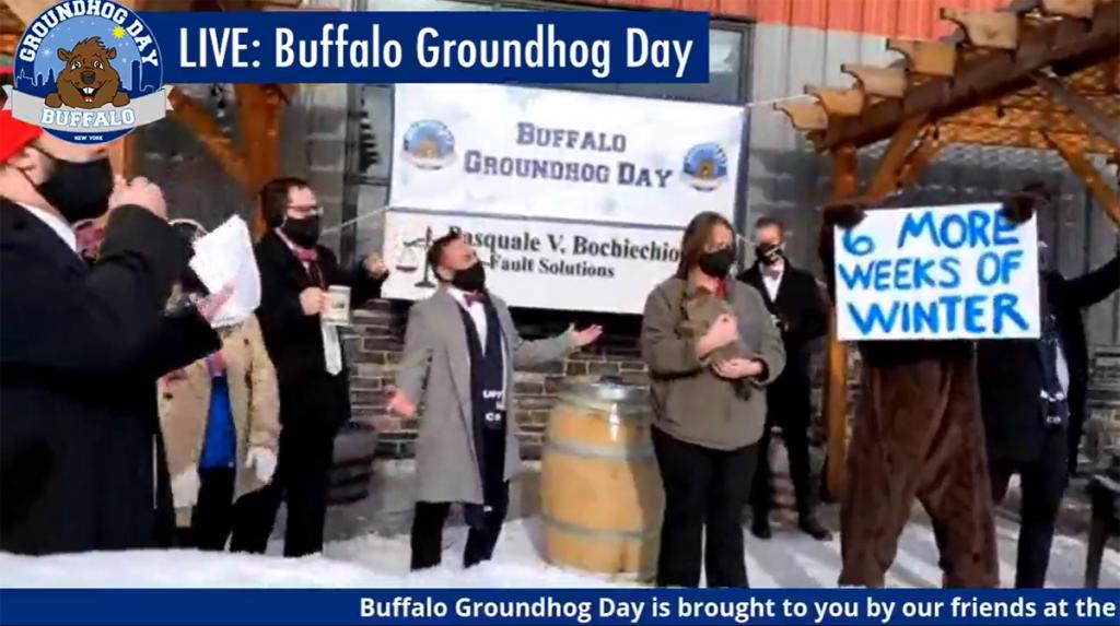 Buffalo Bert's Groundhog Day 2021 prediction